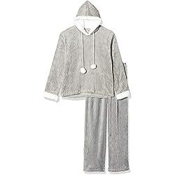 Pyjama à Capuche en Polaire Ultra Douce - Femme 38/40 Grey