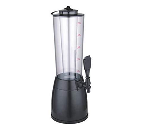DYV 2.5L Acryl Iced Kunststoff Bierfass mit Eiszapfen Bierturm Bar Kanone Ohne Licht Biereimer Getränkeautomat Kaltgetränkeautomat - Mini-eiszapfen-lichter