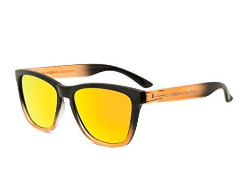 20e8803690 Gafas de sol MOSCA NEGRA modelo ALPHA SUNSET Orange - Polarizadas
