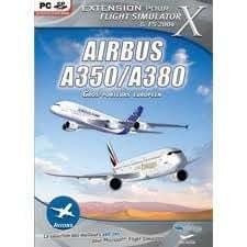 Airbus A350 / A380 - Extension pour flight simulator X et FS 2004