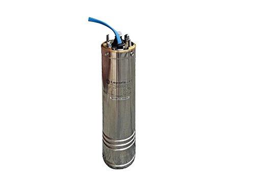 Motore Sommerso HP 1 KW 0.75 Monofase 230 V x elettropompa sommersa 4'