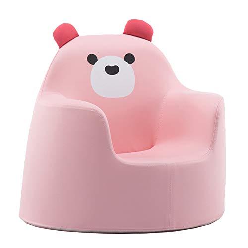 Bodenstuhl, Kinder Kinder Liegestuhl Sessel Spiele Stuhl Sofa Sitz PU Leder Look (Farbe : Style 3) -