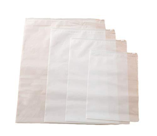 wdoit 10pcs impermeable transparente calcetines ropa interior sujetado