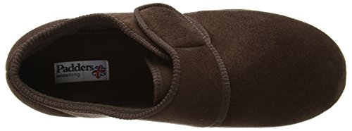 Padders Charles, Chaussons Mules Doublé Chaud Homme Marron