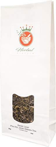Salbei und Pin Ho Jade Grüntee Loser Tee (50g packung) - Salbei Grüner Farbstoff