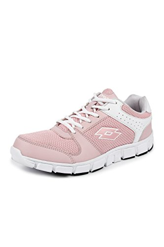 Lotto Women's Sancia White/Nude Pink Running Shoes
