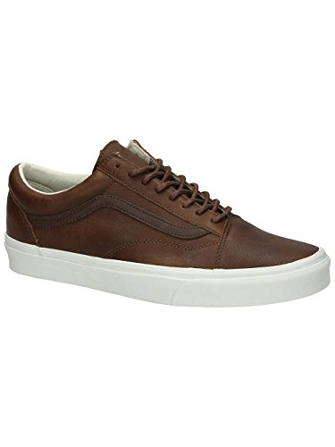Vans Old Skool, Baskets Basses Mixte Adulte Marron (Dachshund/Potting Soil)