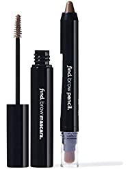 FIND - Eye Brow Kit - Toffee Mania (Eye Brow Pencil With Kabuki no.2 and Eye Brow Mascara no.2)