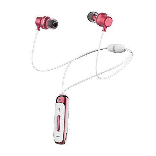 H&T Bluetooth-Kopfhörer, wasserdichte kabellose magnetische Stereo-In-Ear-Ohrhörer, rauschunterdrückende kabellose Sport-Kopfhörer für iPhone/iPad/Samsung/Huawei,B
