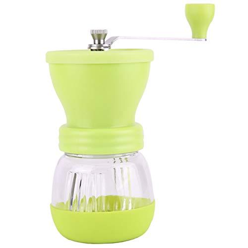 HshDUti Tragbare Grinder Crusher Keramik Kaffeemühle Manuelle Gewürze Körner Muttern Schleifmaschinen Mahlwerk Brecher Schleifer Küchenwerkzeug Green (Schleifer Für Weed Green)