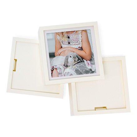 Fotobit fotos personalisables blancos-Kit 3marcos