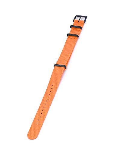 KHS Natoband KHS.EBNOR.22 Orange, 22 mm