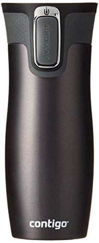 Contigo Thermobecher West Loop, Gunmetal matte transparent, 1000-0579