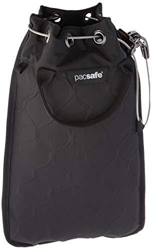 Pacsafe Travelsafe 5L GII - Mobiler Safe mit TSA-Zahlen Schloß, Trage-Tasche mit Anti-Diebstahl Technologie, 5 Liter Volumen, Schwarz/Black