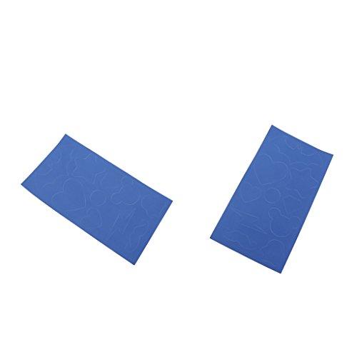 Magideal set di 2pcs toppe per riparazione di giubbotto antipioggia in nylon non rivestito con tasca esterna
