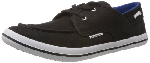 Converse Men's Black Canvas Sneakers - 5 UK (111511)