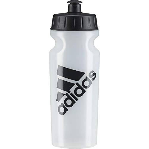 Adidas perf bottl 0, 5, borraccia unisex - adulto, transparent/carbon, ns