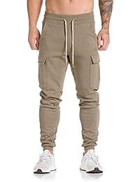 QUICKLYLY Pantalones Vaqueros Hombre Pitillo Rotos Chandals Trekking Skinny,Hombres Pantalones De Chándal Harem Casual