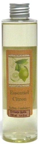 Provence et Nature: Recharge pour Diffuseur de Parfum avec Tiges - Parfum: Essentiel Citron, 200 ml