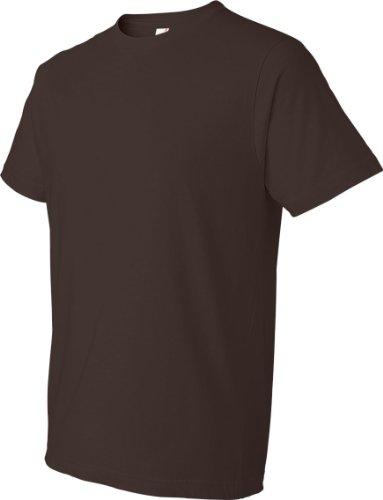 Koi auf American Apparel Fine Jersey Shirt Chocolate