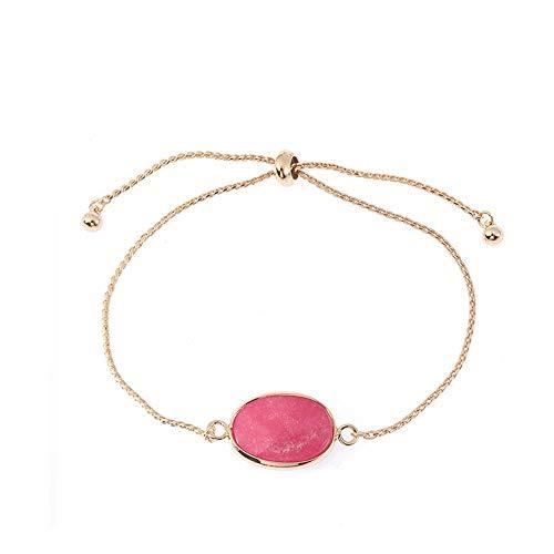 (UINGKID Damen-Armband Charm Kreative Stilvolle Eleganter Legierungs-Naturstein handgemachtes Ketten - -Schmucksachen)