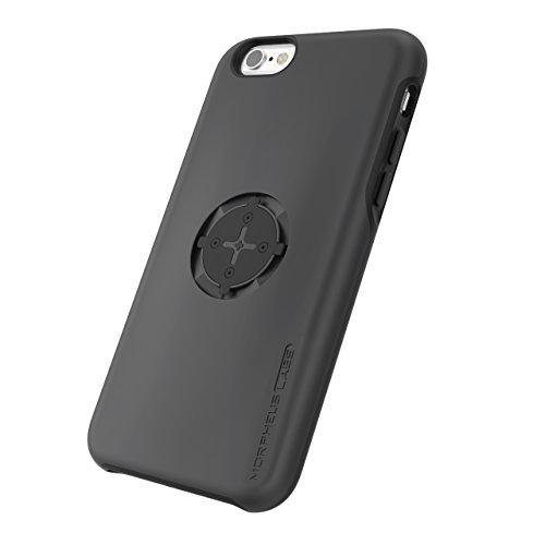 MORPHEUS LABS M4s Case für Apple iPhone 6/6s, Schutzhülle für iPhone 6/6s, Hülle passend für alle M4s Halterungen / Mount, Case mit patentiertem magnetischem Rotations-Schnell-Verschluss, schwarz