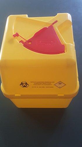 Recipiente para residuos sanitarios peligrosos con riesgo de infección cortantes y punzantes