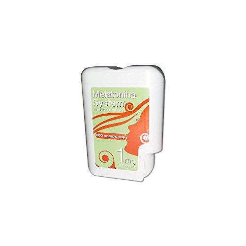 Melatonina system - integratore per i disturbi del sonno - 300 cpr da 1 mg