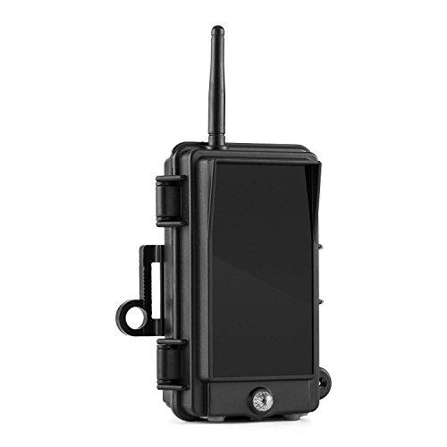 Preisvergleich Produktbild Duramaxx Black Flash Infrarot-Blitzgerät 128 x Black LEDs IPX 5 (robust,  940nm,  wetterbeständiges Kunstoffgehäuse,  unsichtbar für Mensch und Tier,  inkl. Gurt) schwarz