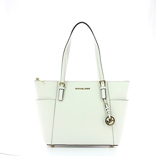 MICHAEL by Michael Kors Jet Set Optic WeiB Tote uni WeiB
