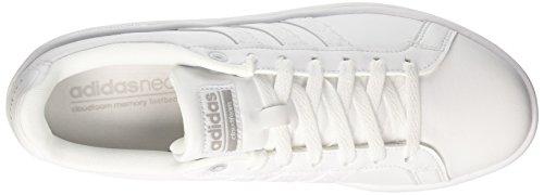 adidas Herren CF Advantage Sneaker Elfenbein (Ftwr White/grey Two )