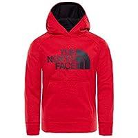 The North Face Kids TNF Sudadera con capucha Surgent, Niños, TNF Red, M