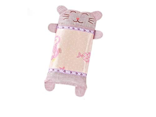 Godlife Almohada de bebé Baby Cat Pillow New Born Baby Almohada de algodón y Cuello Suppor Sleeping Cushion (Purple) para Dormir