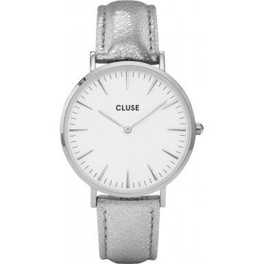 Cluse-Damenuhr-La-Bohme-SilverWhiteSilver-Metallic-CL18233
