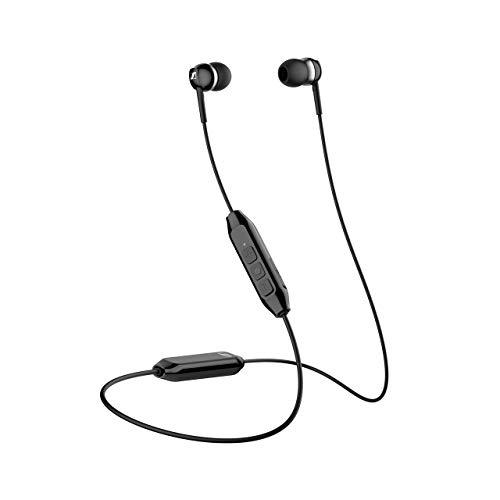 Sennheiser kabelloses Headset CX 150BT mit Nacken-Kabel, schwarz
