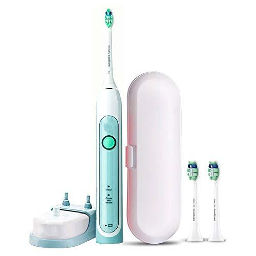 ZJX Elektrische zahnbürste Erwachsene Sonic zahnbürste für männer und Frauen nach Hause wiederaufladbare weiches Haar weiß Werden -