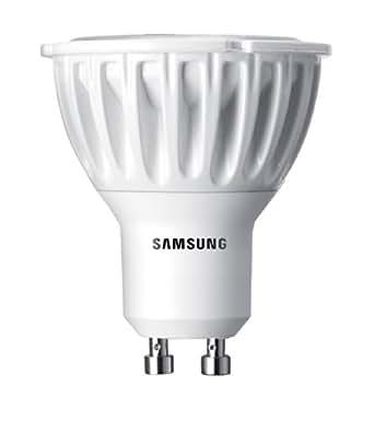 samsung led reflektor par16 gu10 2700k 230v essential 3 3 w 20 w abstrahlwinkel 40 grad 210lm. Black Bedroom Furniture Sets. Home Design Ideas