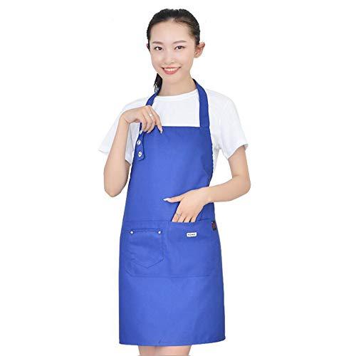 XSMG Küchenschürze,Grillschürze,latzschürze,Küchenschürze für Frauen Männer Chef-Belastbar & Einfach zu Reinigen,03 -