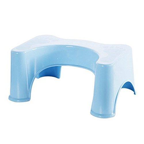 HYP-Ergonomische Toilettenhocker Toilettenhocker ErwachseneWc Hocker Paddel Hocker wc nicht den Slip Kinder wc pad Hocker?blue