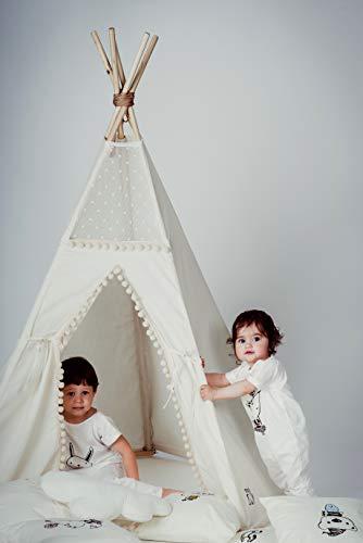 Modèle unique de Tipi pour Enfants, Tipi pour enfants, Tente tipi pour enfants, Tente de jeu fait main par MINICAMP