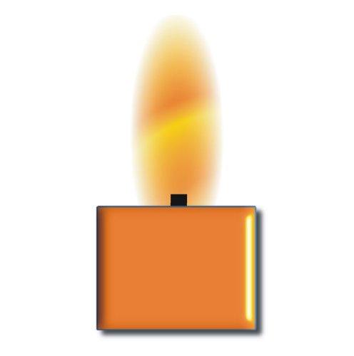 TrendLight  Wachsfarbe für Kerzen orange für 1kg Wachs zum Einfärben von Paraffin Wachs, Kerzengel, Stearin und Kompositionswachs -