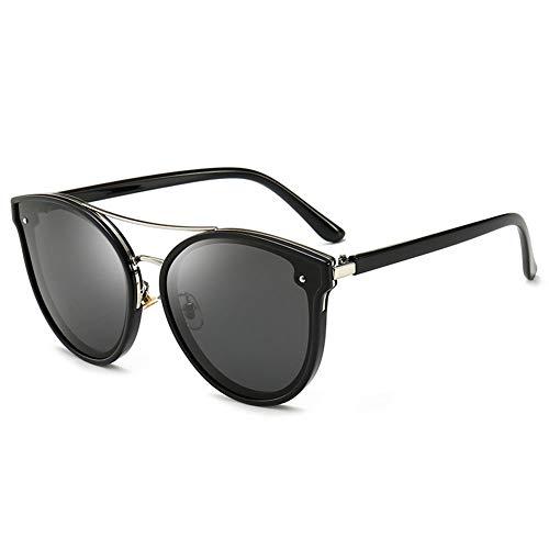 Sonnenbrille Weibliche UV-beständige Polarisierte Sonnenbrille Großformatiger Fahrspiegel, Kann Für Dekorative Reisen Verwendet Werden. Geeignet Für Eine Vielzahl Von Gesichtstypen. ( Color : A )