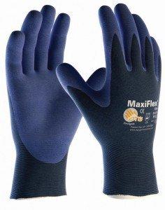 2er Pack MaxiFlex Elite Arbeitshandschuhe, Montagehandschuhe, Größe:8 (M)