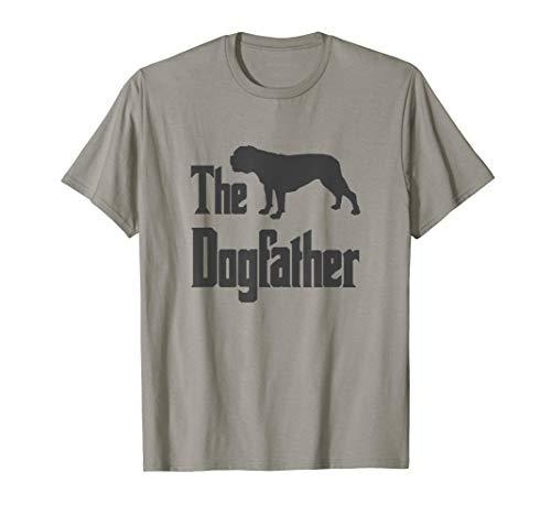 The Dogfather - lustiges Old English Bulldog T-Shirt Hund - Bulldogge T-shirt Tee