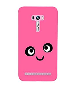 FUSON Smile Icon Stock Vector 3D Hard Polycarbonate Designer Back Case Cover for Asus Zenfone Selfie ZD551KL