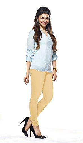 Lux Lyra Women\'s Beige Churidar Leggings
