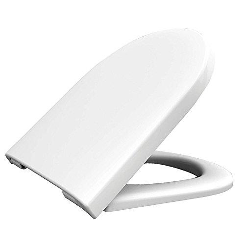 HARO WC-Sitz Tube Softclose Premium für TOTO NC (CW762Y) mit Absenkautomatik Weiss - Wc Tube