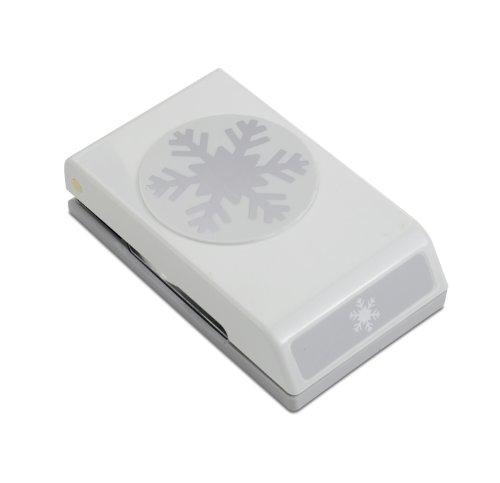 EK Tools Papierlocher Schneeflocke 3.5305999999999997 x 7.8231999999999999 x 15.519400000000001 cm hellgrau -