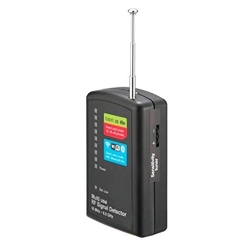XCUGK Allmächtiger Anti-Spion-Signal-Bug-RF-Detektor, Sucher für versteckte Kamera-GSM-Geräte, Empfindlichkeit per Wireless Device Tracker einstellbar (Kamera-mikrofon-detektor)