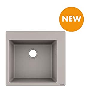 Turbo hansgrohe Küchenspüle SilicaTec betongrau: Amazon.de: Elektronik BG88